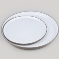 Flat Round Plate Small Dusk